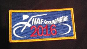 2016 NAFFR Year Patch